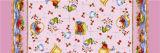 Meer Afgedrukt Tafelkleed van de Rechthoek van het Huis van het Hotel van het Huwelijk van Kleuren pvc met Steun (TJ0022)