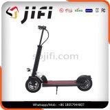 Scooter électrique de coup-de-pied de deux roues avec la selle et la lumière facultatives