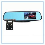 Appareil-photo du miroir de Rearview de FHD deux avec la caméra vidéo