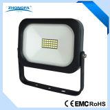 10W는 세륨 EMC RoHS 증명서를 가진 Driverless LED 플러드 빛을 체중을 줄인다