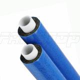 파란 절연제를 가진 Pex 알루미늄 Pex 관을 부분적으로 덮거나 Wedled 부딪치 용접했다