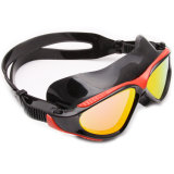 多彩な普及した紫外線保護シリコーンの水泳マスク