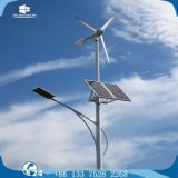 Horizontal-Mittellinie Dauermagnetstraßenlaternedes generator-Wind-Solarmischling-LED