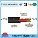 Housse en caoutchouc résistant aux incendies Housse en PVC Flexible Single Cable