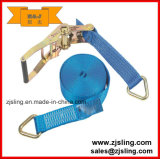 Cambuckle trinquete de amarre correas 2,5m x 25mm