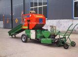 Mini máquina de empacotamento hidráulica da prensa redonda para Vietnam