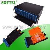 4u 144 Core estante montado de fibra óptica ODF