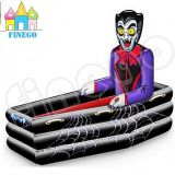 Aufblasbare Halloween-Vampir-Sarg-Buffet-Kühlvorrichtung Hallowmas Partei-Kühlvorrichtung