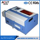 Hot Sale le CO2 40W Mini machine à gravure laser de timbres en caoutchouc