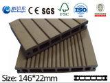 пластмасса составного Decking 146*23mm деревянная с SGS Ce аттестовала