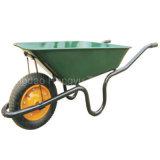 """pneumático contínuo Wheelbarrow pintado da bandeja do metal 13 """" X3 """""""