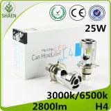 Selbstscheinwerfer des LED-Auto-Licht-25W H4 LED mit Ventilator