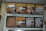 De LEIDENE Raad die van het Menu de BinnenSignage van de Media van het Restaurant van het Snelle Voedsel Lichte Doos van de Kromme van de Boog adverteren