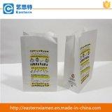 Sac blanc estampé de papier d'emballage/sac de pain/sac emballage de nourriture