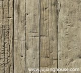Kleber-hölzerne Haut-Steinziegelsteine des kultivierten Steins