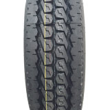 O caminhão de Boto Bt212n 11r22.5 11r24.5 cansa o pneu do reboque