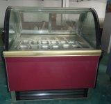 Vetrina commerciale del gelato di capacità elevata (TK)