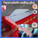Adesivo de selagem usado para colocar papel de goma - lado de vedação de plástico