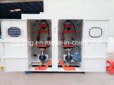 De verticale Dubbele Machine van het Draadtrekken van de Machine van de Draad van de Kabel van de Spoel Achter Verdraaiende CAT6 Cat7