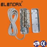 Белый 3-канальный блок питания с кабелем и переключатель (E8003ES)