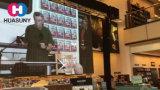 Étalage ultra mol de rideau en DEL pour l'étape et l'exposition de location