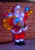 Indicatore luminoso acrilico del pupazzo di neve LED di nuovo disegno (IL100625-1)