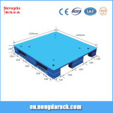 Durable 1200*1000mm palette plastique pour l'entrepôt