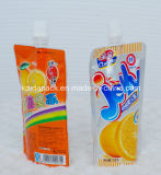 Stand personalizzato su Gusset Spout Food Pouch per Jelly Juice