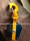 Tipo cerrado sola polea coreana 5t del bloque de arrebatamiento de la polea acanalada