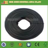 Alambres de hierro galvanizado revestido del PVC de la bobina, alambre pequeño de la bobina de la encuadernación