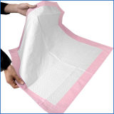 60*80cmのホームで使用されるピンクの極度の吸収性の尿のパッド