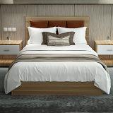 خشبيّة خزانة ثوب وسرير لأنّ نجار فندق غرفة نوم أثاث لازم مجموعة