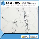 Камень кварца Китая искусственний, белые искусственние мраморный слябы кварца