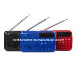 Universal Home Mini haut-parleur de métal de Radio FM avec batterie facturable