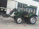 Map804 4 Wheel Drive Tractor con Front Loader