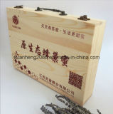 Rectángulo de madera por encargo para el regalo