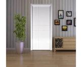 古典的な現代主義の純木のドア