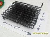 El tubo de la placa de condensador como piezas de nevera
