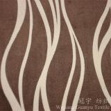 Tissu ultra doux velours et velours avec traitement de flocage