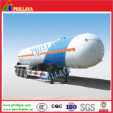 3 de l'essieu 50cbm de gaz de camion-citerne de transporteur de LPG de réservoir remorque semi