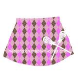 Logotipo de la marcha de la ropa fresca Healong sublimación señoras Lacrosse faldas a la venta