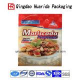 Le lasagne estampé par coutume en plastique de conditionnement des aliments de laminage met en sac l'emballage