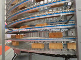 ステンレス鋼の空気クーラー、パンのハンバーガーのトーストの螺線形の冷却塔