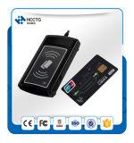 3 en 1dualboost Lector de tarjetas de contacto y sin contacto USB inteligente con ranura Sam (ACR1281U-C1)
