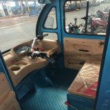 Triciclo eléctricos híbridos adulto 800W 48V triciclo de carga com o Capô