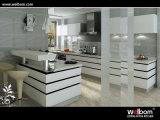 Welbomの光沢度の高いパン屋のペンキの食器棚