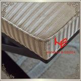 Mobilia esterna dell'acciaio inossidabile della mobilia del ristorante delle feci del salone delle feci del negozio delle feci dell'hotel della mobilia dell'ammortizzatore delle feci della memoria delle feci di barra delle feci (RS161803)