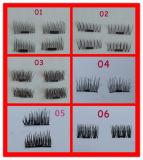 Верхнее качество наиболее поздно оценивает ручной работы ложную магнитную ресницу