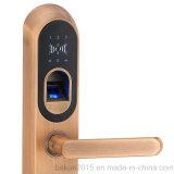 住宅亜鉛合金のスマートな指紋のドアロック電子パスワードロック