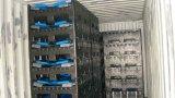 標準規格1200X1000X1000折りたたみプラスチックパレット容器